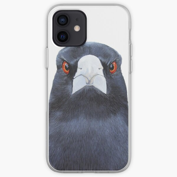 Magpie Stare iPhone Soft Case