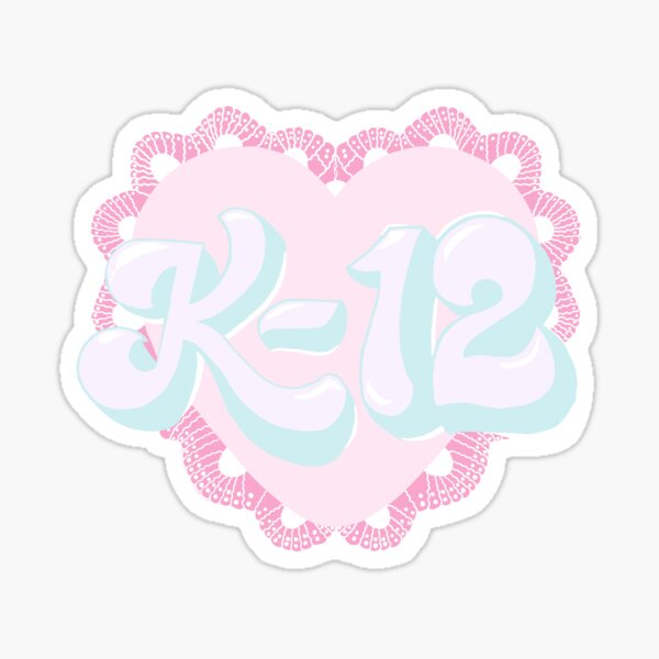 Dessin K-12 Sticker
