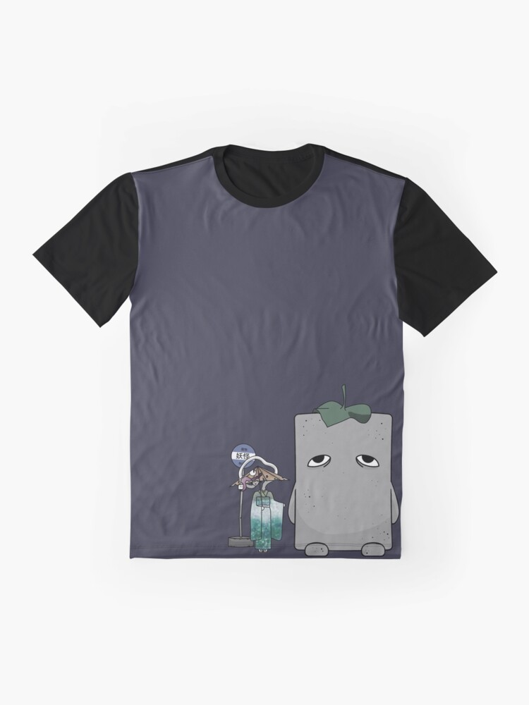 Vista alternativa de Camiseta gráfica Mi vecino Yokai