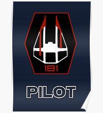 181st Fighter Group - Star Wars Veteran Series Poster