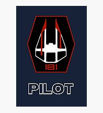 181st Fighter Group - Star Wars Veteran Series Photographic Print