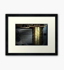 Steampunk - Gears - Music Machine Framed Print