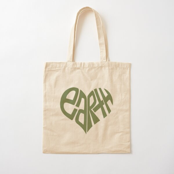 Love The Earth. Cotton Tote Bag