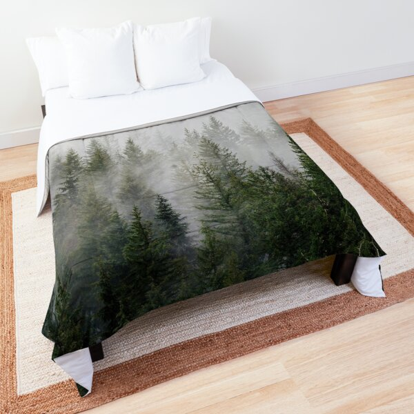 Misty Forest  Comforter