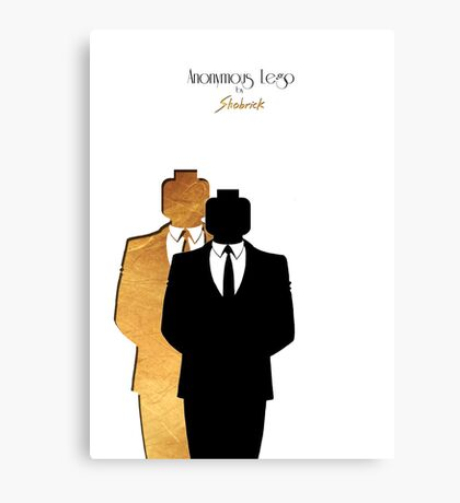 Anonymous Lego  Canvas Print