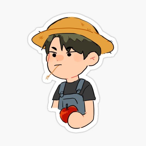 Farmer Boy Ushijima Sticker