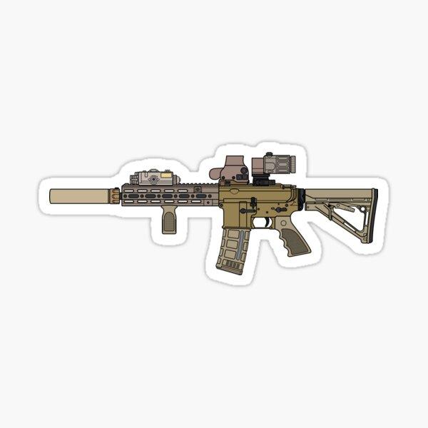 CAG HK 416 Sticker
