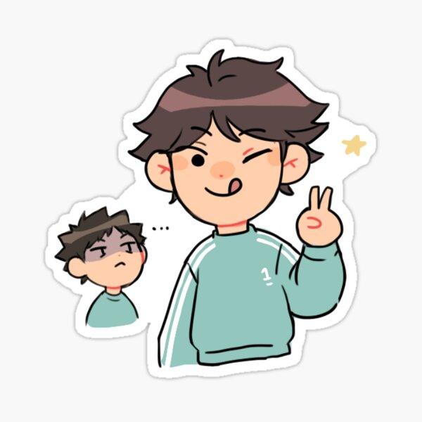 Oikawa & Iwaizumi Sticker