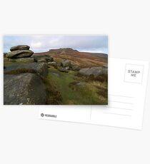 Burbage Moor Towards Higger Tor Postcards