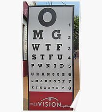 That´s Some Poor Eyesight Poster