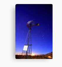 Please Do Not Shoot Windmill Canvas Print