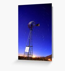 Please Do Not Shoot Windmill Greeting Card