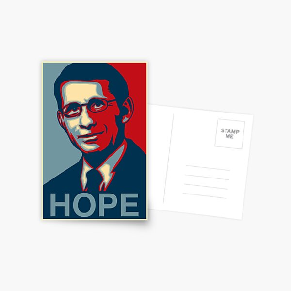 Dr Anthony Stephen Fauci Postcard