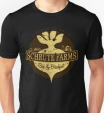 I enjoyed my stay at Schrute Farms (Brown) T-Shirt