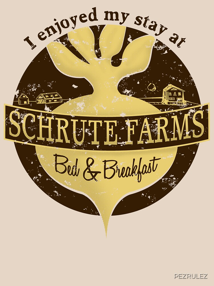 I enjoyed my stay at Schrute Farms (Brown) | Unisex T-Shirt