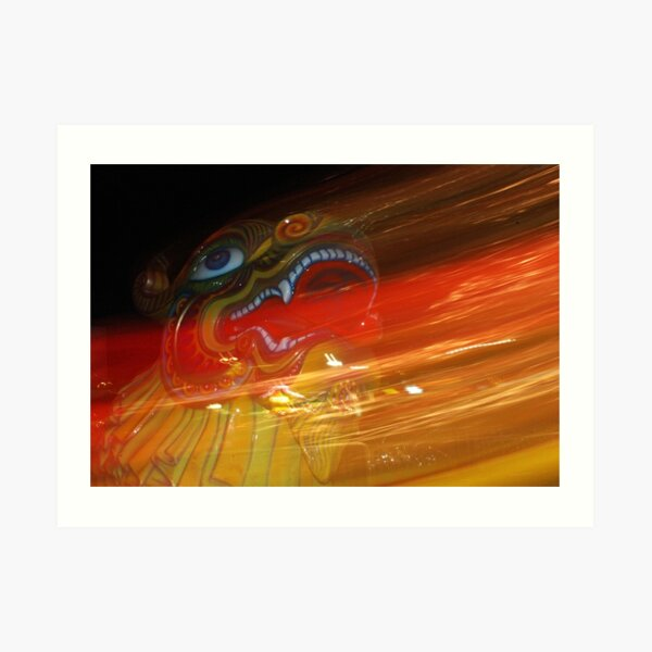 The Dragon Art Print