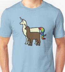 Llamacorn und Alpacacorn Slim Fit T-Shirt