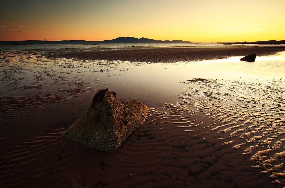 Seamill Sunset by Grant Glendinning