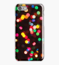 Bokeh - Christmas Light iPhone case iPhone Case/Skin