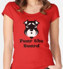 Fear the Beard Women's Fitted Scoop T-Shirt