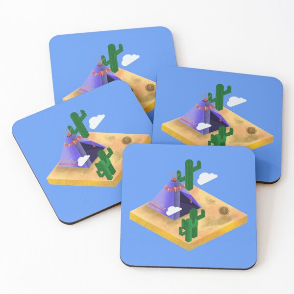 Desert Life Coasters (Set of 4)