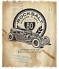 ROCKSALT GARAGE 'N GRILL Poster by Mark Will