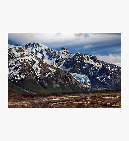 Hanging Glacier Photographic Print