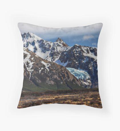 Hanging Glacier Throw Pillow
