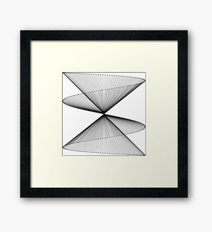 Lissajous XXV Framed Print