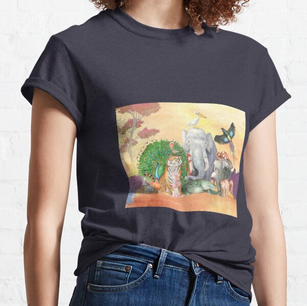 Birds and Beasts Classic T-Shirt