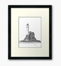 Ireland Lighthouse Framed Print