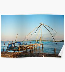 Chinese Fishing Net Poster