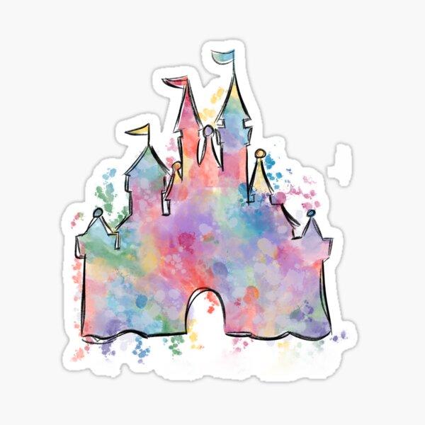 Dreamy Castle Sticker