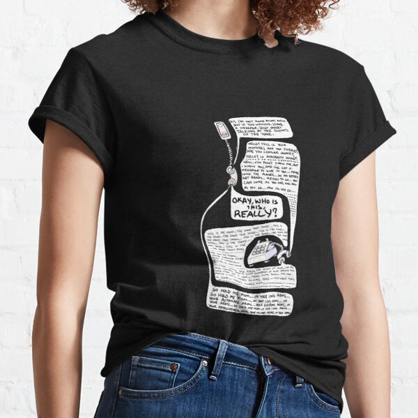 O Superman Lineart T-shirt classique