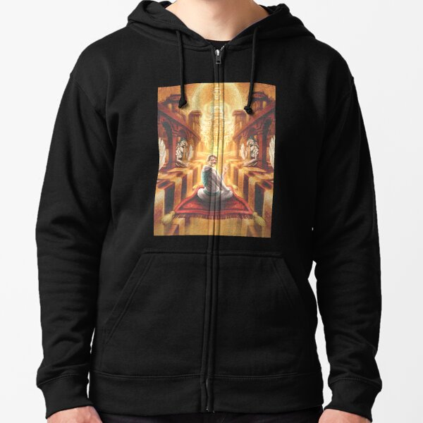 McKenna and the Sands of Time Zipped Hoodie