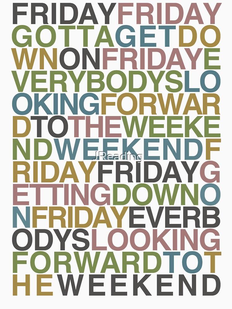 Friday - Rebecca Black von JReading