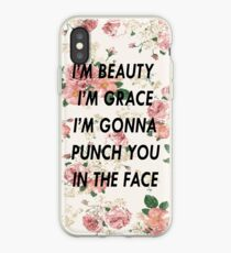 I'm Gonna Punch You in the Face iPhone Case