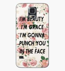 I'm Gonna Punch You in the Face Case/Skin for Samsung Galaxy