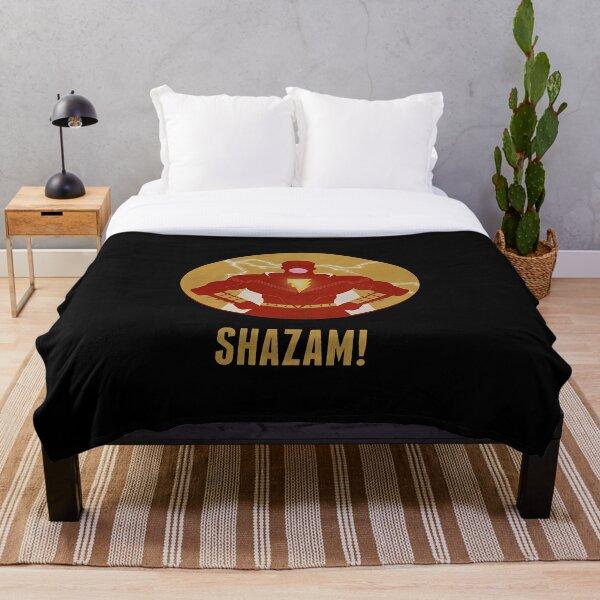 Shazam Reveals Throw Blanket