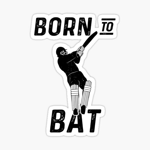 Cricket Bat Stickers Redbubble