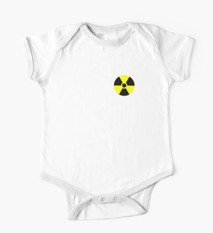 Warning Radiation T Kids Clothes