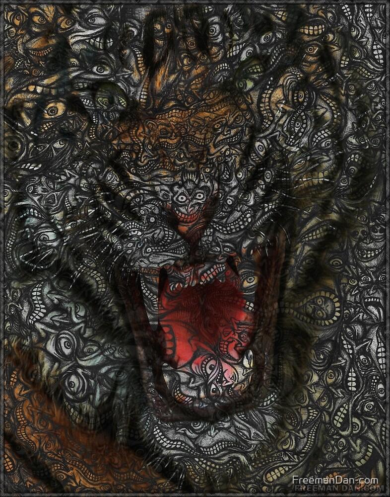 Facepage - Tiger Poster (color) by FreemanDan-com