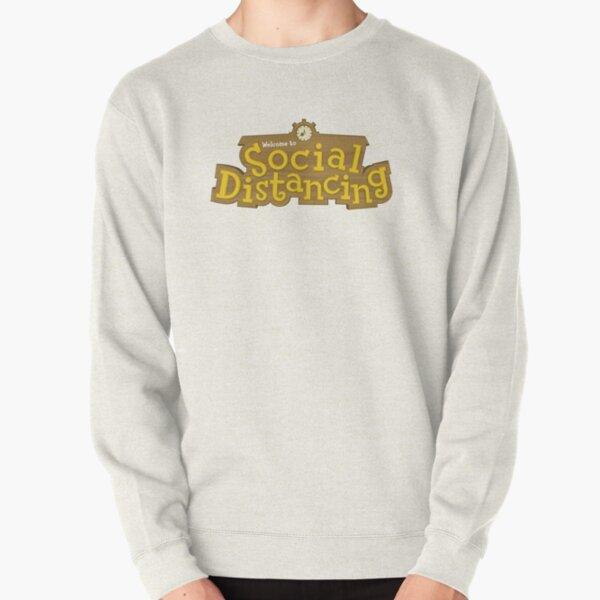 Animal Crossing: Social Distancing Pullover Sweatshirt