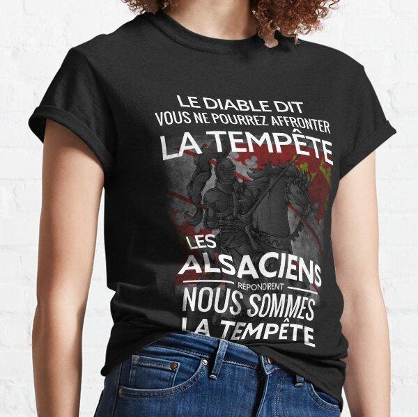 Alsace et tempête T-shirt classique