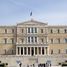Vouli-Parliament with the Tomb of the Unknown Soldier  by Patricia127