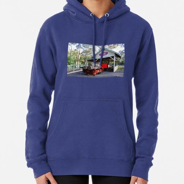Timber train, Kate, Margaret River, Western Australia Pullover Hoodie