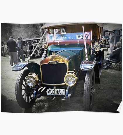 Rover Clegg 12HP 1912 Poster
