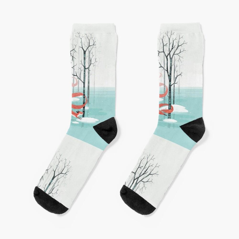 Forest Spirit Socks
