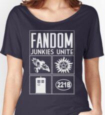 Fandom Junkies  Women's Relaxed Fit T-Shirt