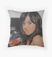 I'll drink to that.. Throw Pillow